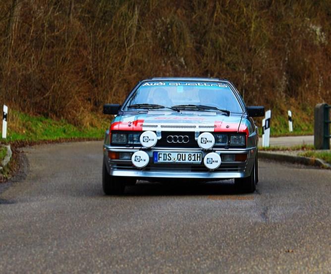 Audi UR-Quattro Fahrt zum Oldtimertreffen © Marcel Hartstock (MH Photography)