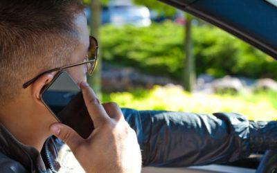 """Fahrverbot wegen """"Handy am Steuer"""""""