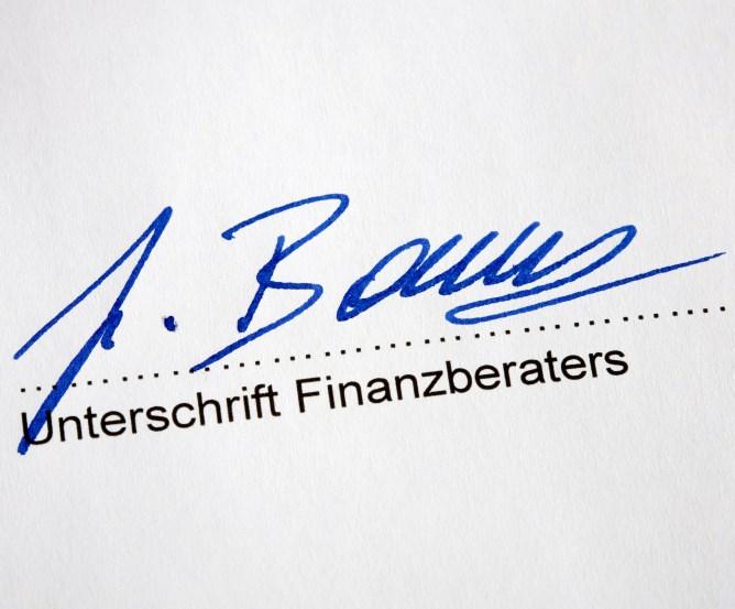 Finanzdienstleister Beratungsprotokoll Totalverlustrisiko