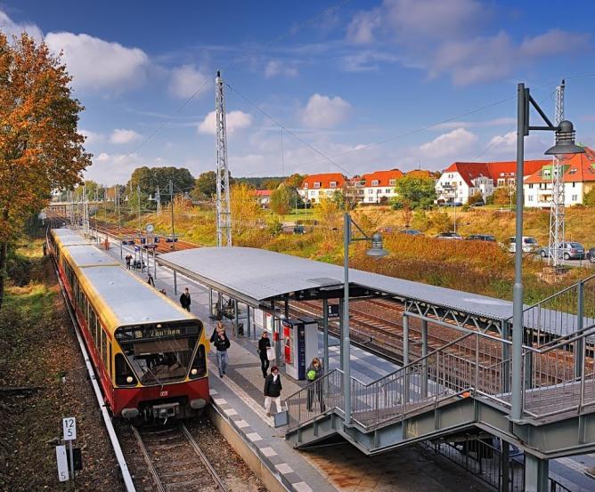 Wohnpark am S-Bahnhof Bergfelde © Frank Liebke