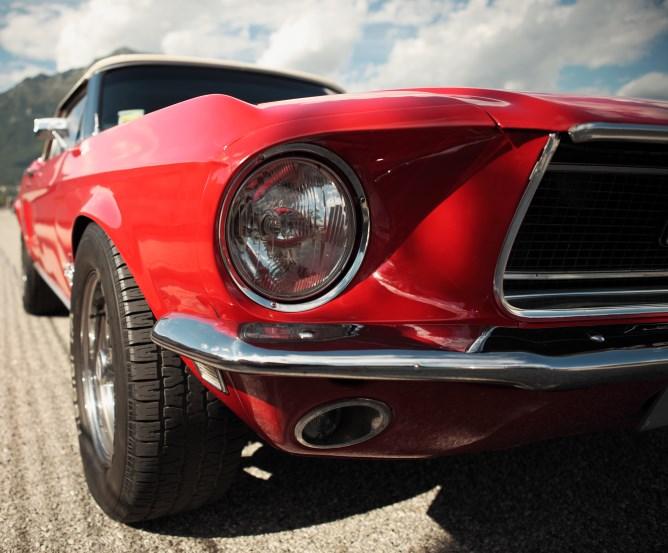 Sondertarif Oldtimer-Versicherung für Classic Muscle Cars