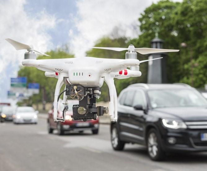 Mit Drohnen sind auch Sicherheitsrisiken verbunden