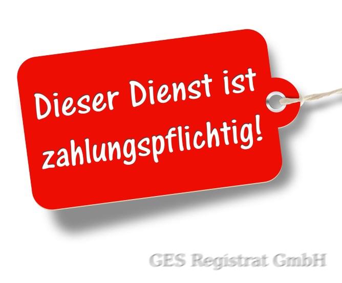 Kostenpflichtiger Eintrag Online-Branchenverzeichniss www.registrat.de