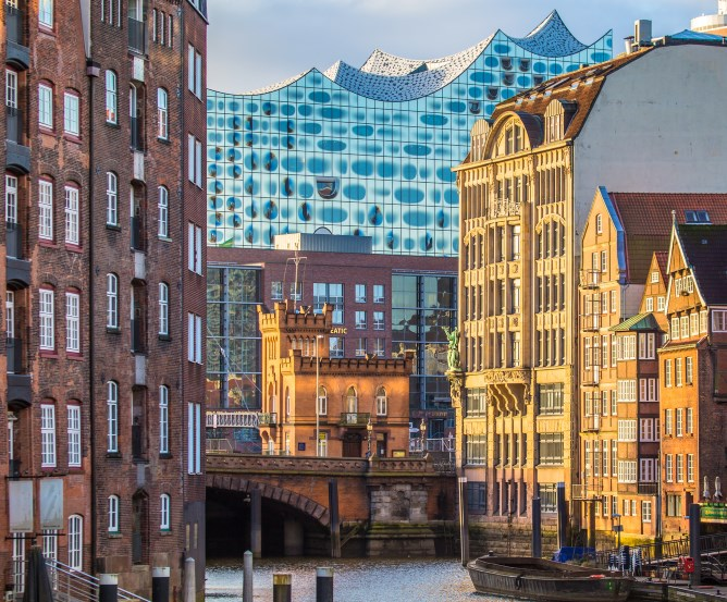 """Elbphilharmonie """"Elphi"""" Konzerthaus in der HafenCity von Hamburg"""