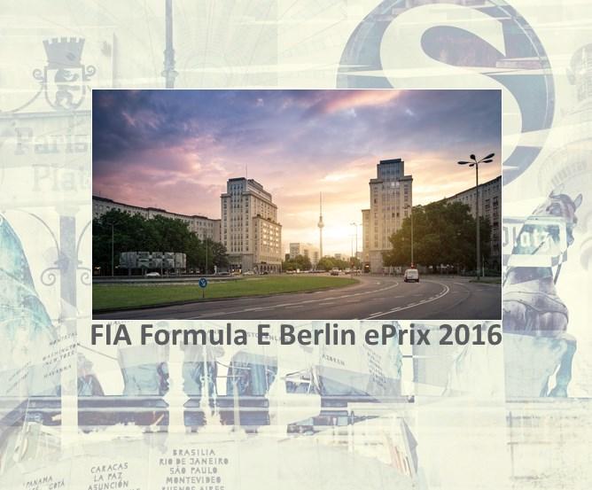 ePrix 2016 - Berlin Strausberger Platz - Karl-Marx-Allee