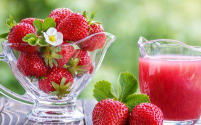 Erdbeeren: gesund und lecker