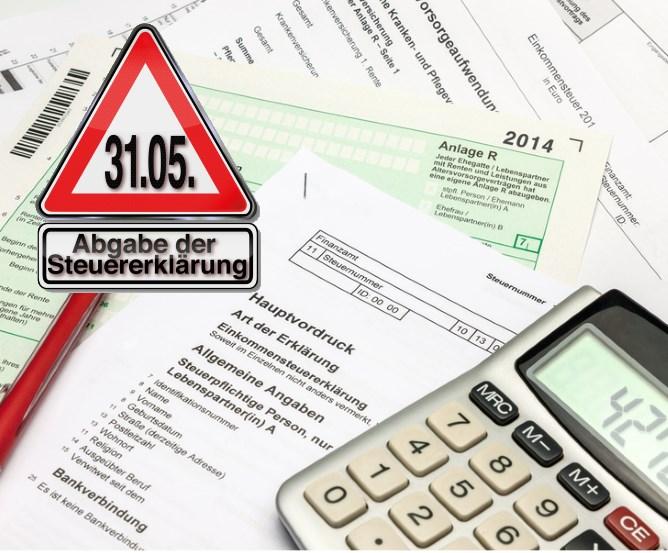 Fristverlängerung Steuererklärung 2014 beantragen