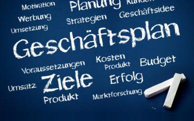 Geschäftsplan (Businessplan) für eine Existenzgründung