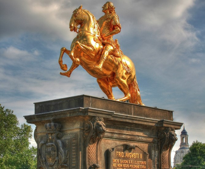 August des Starke - Goldener Reiter Dresden