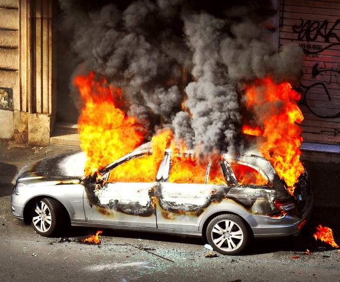 Kaskoversicherung Neuwagen ausgebrannt