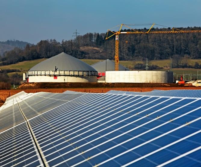 Landwirt: Photovoltaik-Anlage