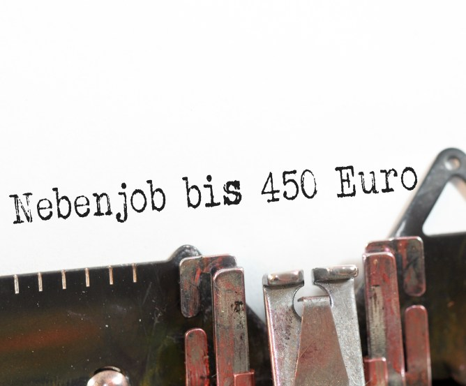Steuererklärung - Minijob 450 Euro