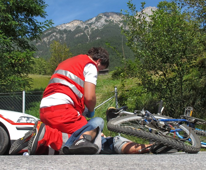 Unfallversicherung für Fahrradfahrer