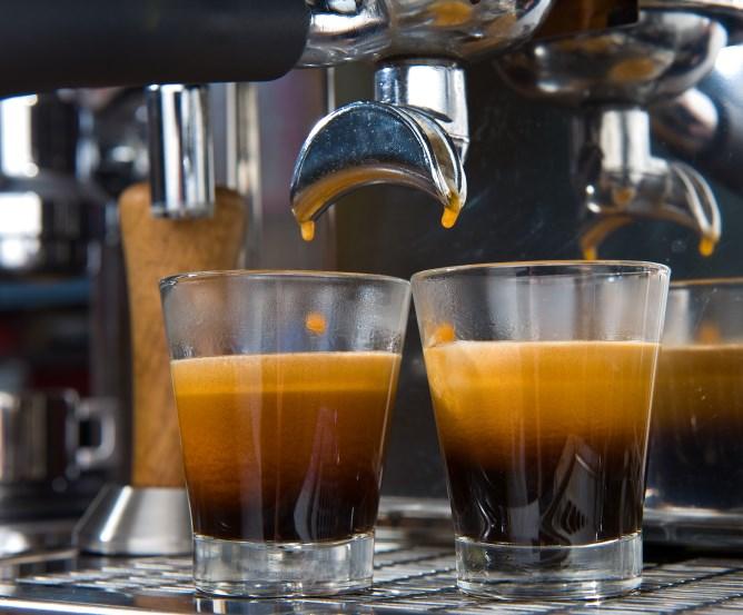 Rum im Kaffeehaus