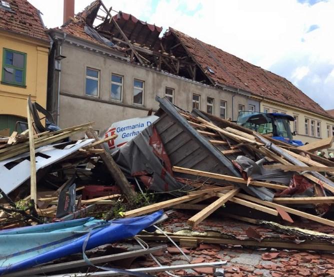 Tornado 2015 Bützow bei Rostock © Marco Kaschuba