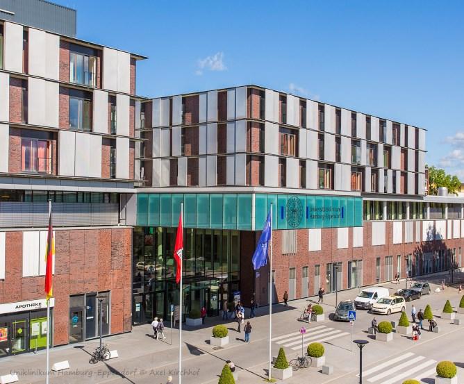 Uniklinikum Hamburg-Eppendorf © Axel Kirchhof