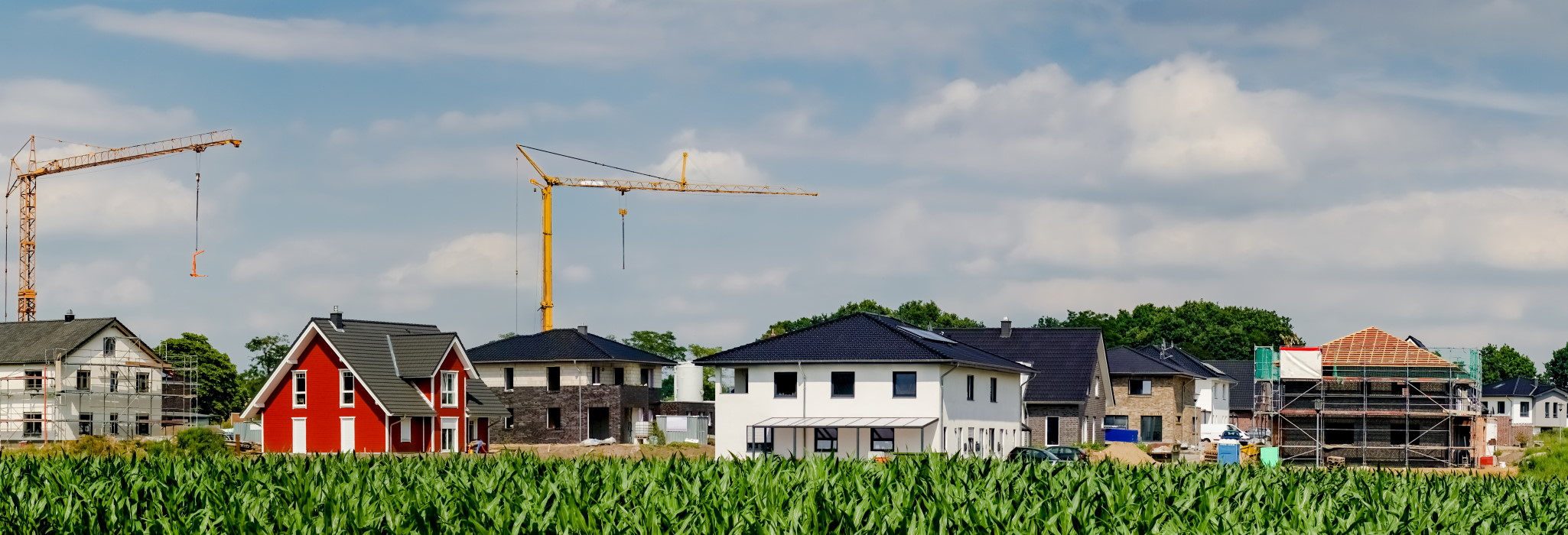 Versicherungen beim Hausbau