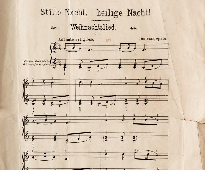Text Weinachtslied: Stille Nacht, Heilige Nacht